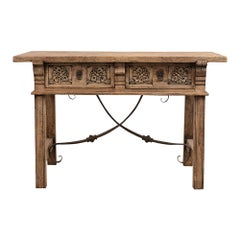 Spanish Style Library Table