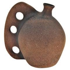 Spanish Terracotta Jar Vase, 1950s