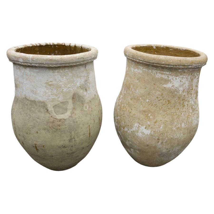 Spanish Terracotta Urns from Andalusia