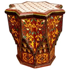 Spanish Tile Top Occasional Table