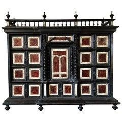Spanish Tortoiseshell Cabinet, 17th Century