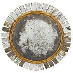 Spanish Vintage Sunburst Mirror