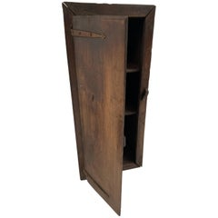 Spanish Wall Cabinet in Chestnut Wood