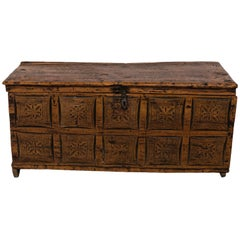 18th Century Spanish walnut chest