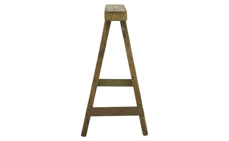 Spanish Wooden Sawhorse In Good Condition For Sale In Chicago, IL