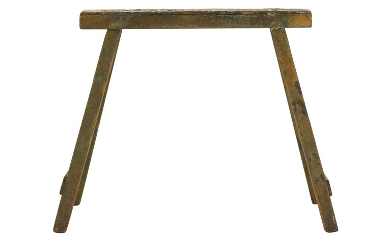 20th Century Spanish Wooden Sawhorse For Sale