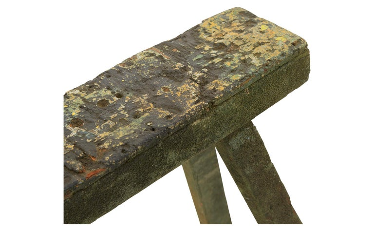 Spanish Wooden Sawhorse For Sale 1