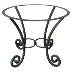 Spanish Wrought Iron Dining Table Pedestal Base Indoor or Outdoor