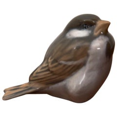 Sparrow Figurine from Royal Copenhagen, 1960s