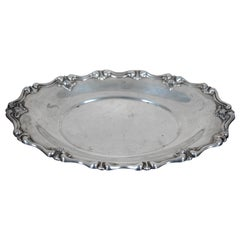 Spaulding & Co. Sterling Silver 925 Bread Tray Repousse Scalloped 3399 168g