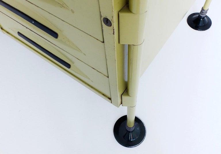 Spazio Desk and Side Desk by Bbpr Studio for Olivetti, Italy, 1962 For Sale 3