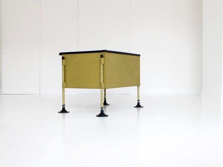 Spazio Desk and Side Desk by Bbpr Studio for Olivetti, Italy, 1962 For Sale 8