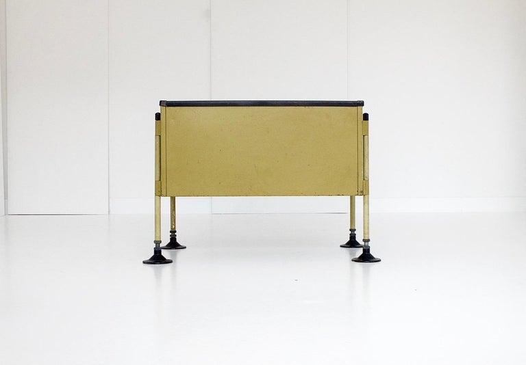 Spazio Desk and Side Desk by Bbpr Studio for Olivetti, Italy, 1962 For Sale 9
