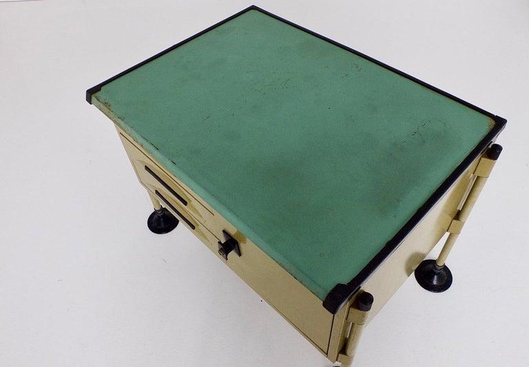 Spazio Desk and Side Desk by Bbpr Studio for Olivetti, Italy, 1962 For Sale 11
