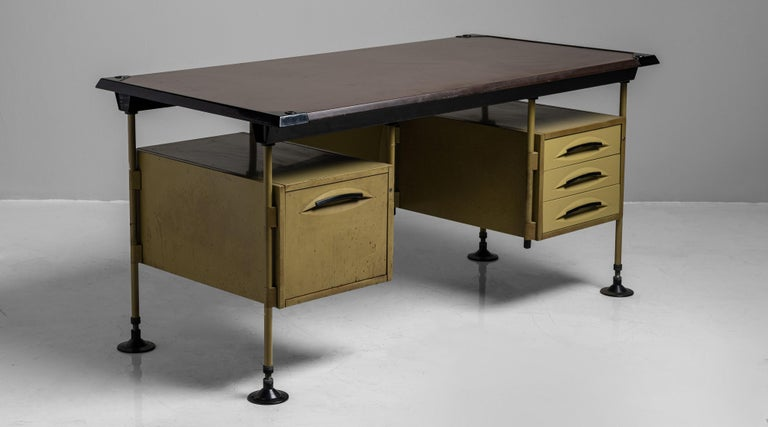 Spazio Modernista desk by Studio BBPR, Italy, 1959