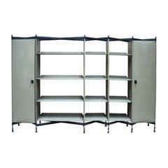 Spazio Series Bookcase by BBPR for Olivetti, 1964