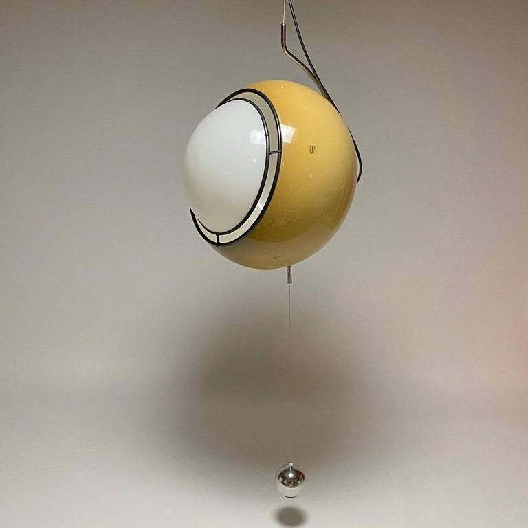 Space Age Special Ceiling Light by Harvey Guzzini, Italy, 1974 For Sale