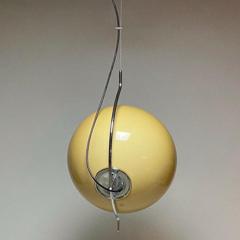 Italian Special Ceiling Light by Harvey Guzzini, Italy, 1974 For Sale