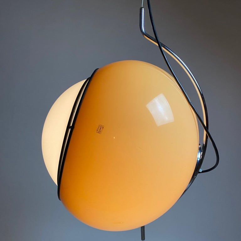 Late 20th Century Special Ceiling Light by Harvey Guzzini, Italy, 1974 For Sale