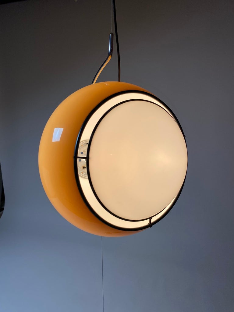 Special Ceiling Light by Harvey Guzzini, Italy, 1974 For Sale 1