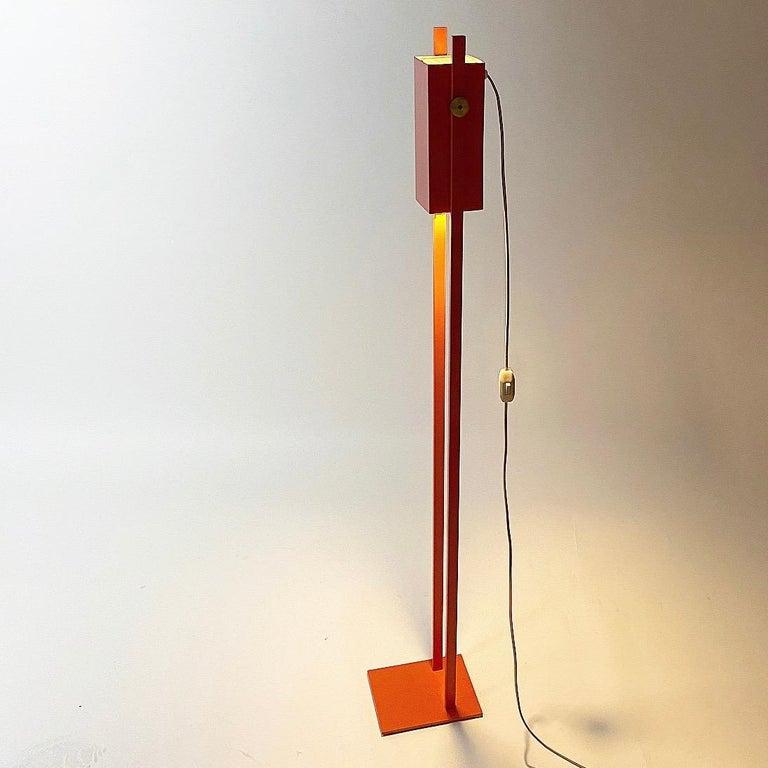 Mid-20th Century Special Danish Floor Lamp by Benny Frandsen for BF Lamper, Denmark, 1968 For Sale