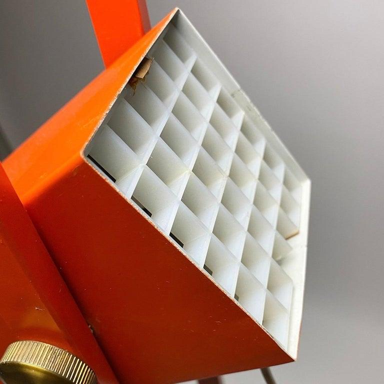 Brass Special Danish Floor Lamp by Benny Frandsen for BF Lamper, Denmark, 1968 For Sale