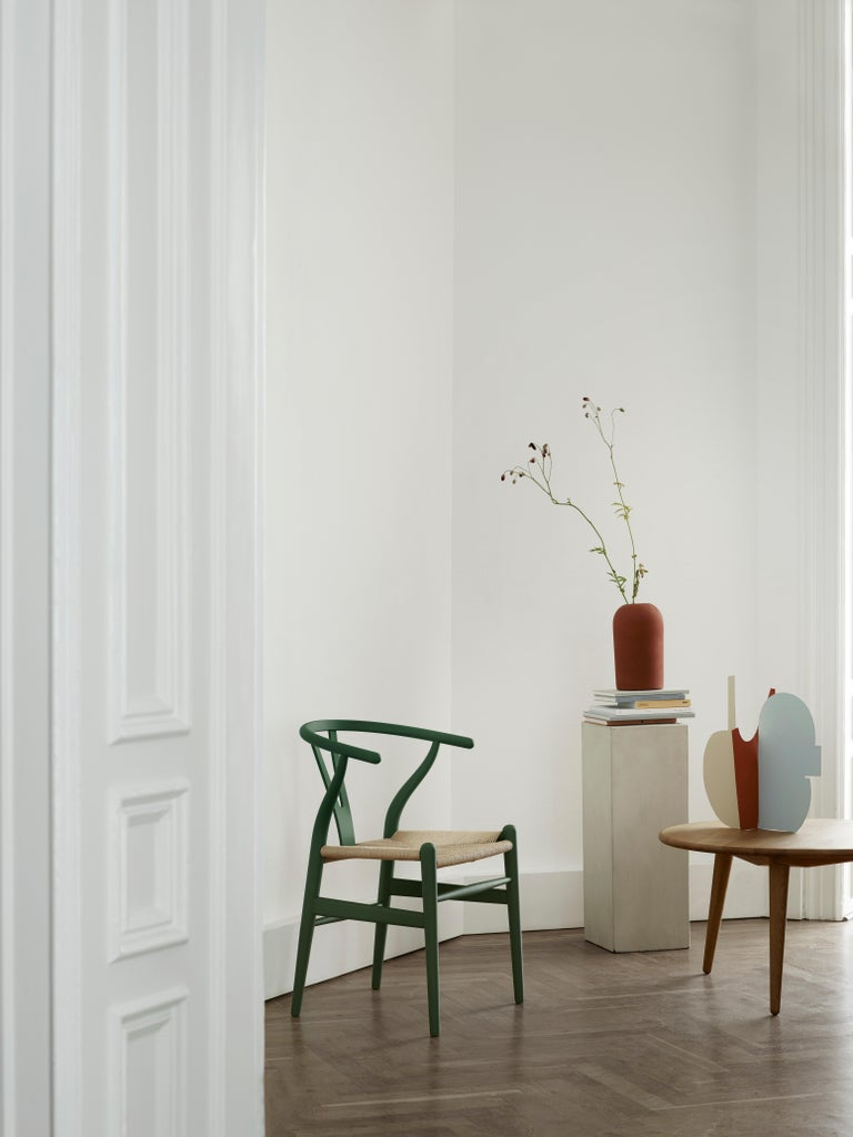 CH24 Wishbone Chair in Soft Colors by Hans J. Wegner For Sale 19
