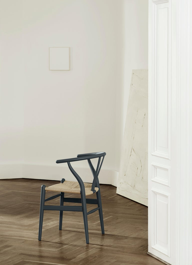 CH24 Wishbone Chair in Soft Colors by Hans J. Wegner For Sale 24