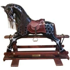 Special Millennium 2000 Limited Edition 86/500 Glider Horse with Brass Plaque