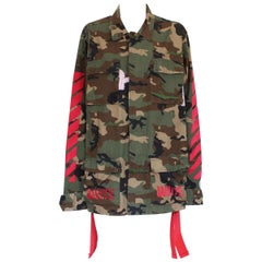 Special Off-White Camouflage cargo Jacket
