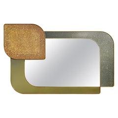 Special Price Display Mirror Bronze Decorative Tiny Mosaic