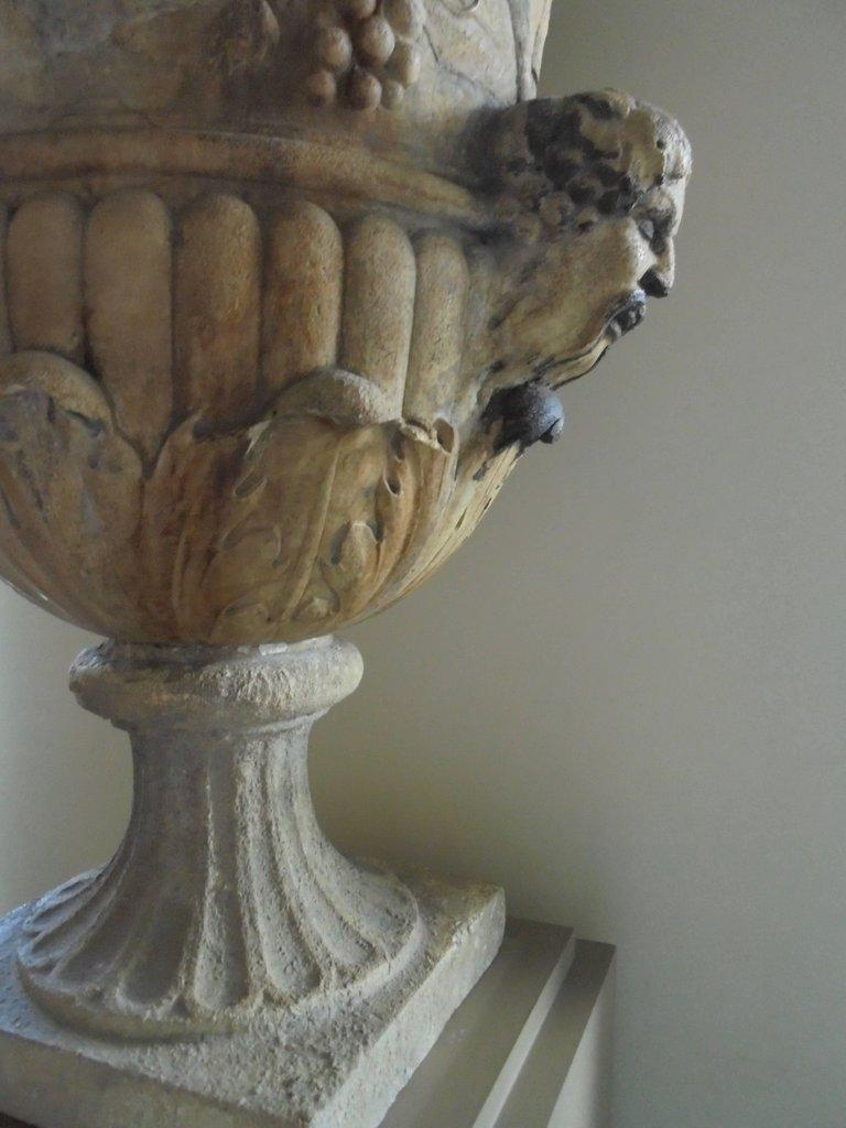 Spectacular 18th Century Carved French Garden Vase For Sale 1