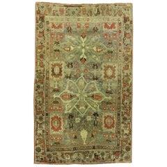 Spectacular Antique Persian Bidjar Rug