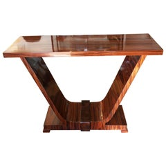 Spectacular Art Deco Design Console or Hall Table