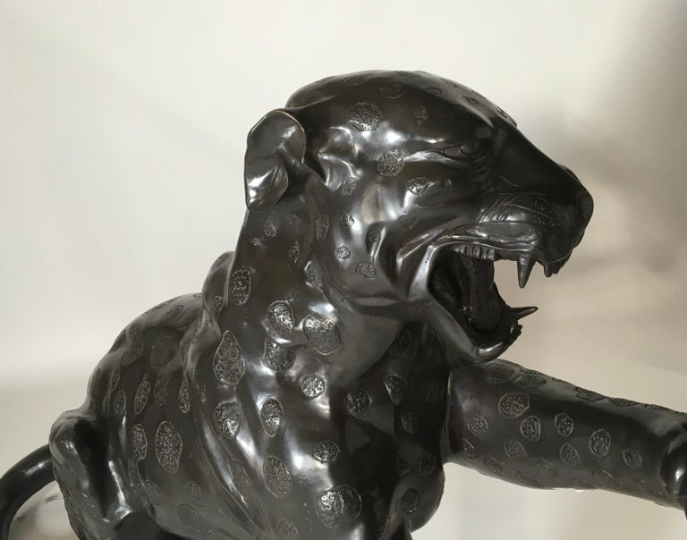 Spectacular Bronze Sculpture, Italy In Excellent Condition For Sale In Milan, Italy