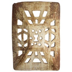 Spectacular Ceramic Wall Sconce by Jean-Pierre Viot, circa 1970