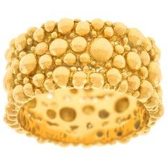 Spectacular Gilbert Albert Gold Ring