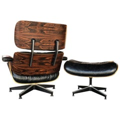 Spectacular Herman Miller Eames Chair and Ottoman
