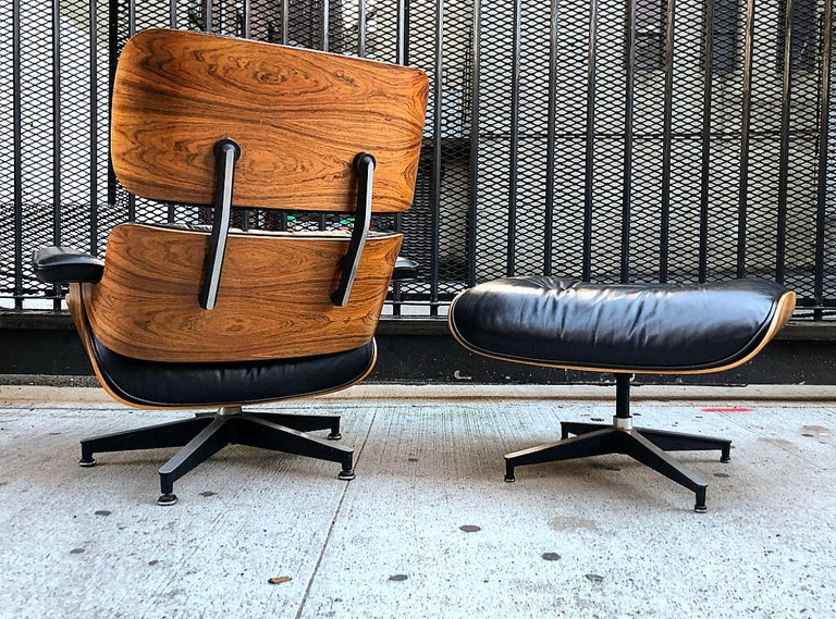 Outstanding Spectacular Herman Miller Eames Lounge Chair And Ottoman Pabps2019 Chair Design Images Pabps2019Com