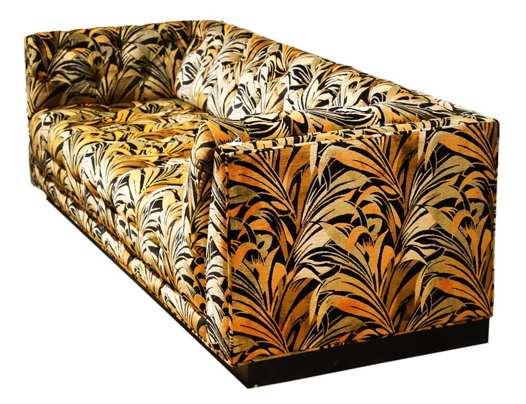 Fabric Spectacular Large Mid-Century Modern Sectional Sofa Attributed to Milo Baughman For Sale