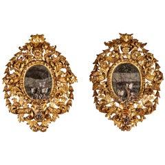 Spectacular, Period, Italian Candelabra Mirrors