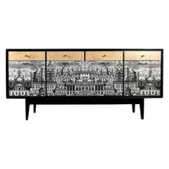 Spectacular Revamped 1950s Sideboard