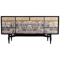 Spectacular Revamped Sideboard, Bar, 1950s