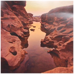 Spectacular Scenic Art Color Photo of Magnificent Grand Canyon National Park