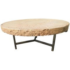 """Spectacular Silas Seandel Style """"Terra"""" Cocktail Coffee Table Mid-Century Modern"""