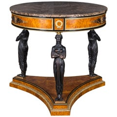 Spectacular Temple Guardian Empire Style Table
