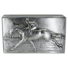 Spectacular Tiffany & Co. Sterling Silver Horse Box
