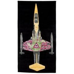Spectacular Zhivago Duncan Tapestry/Rug for Odabashian Low-Edtn Tibetan Weave