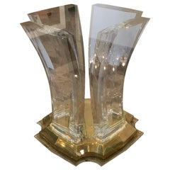 Spectrum Lucite Dining Table Base