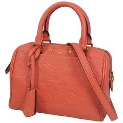 Louis Vuitton Speedy bandouliere 20  Womens  handbag M42398  blossom Leather